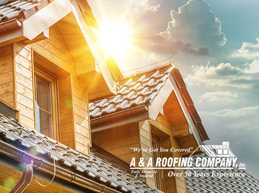 Roof damage from sun exposure, blog, A and A roofing Company